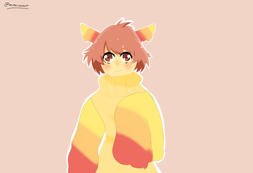 Colores based on a request of my oc by NiEinCeBe