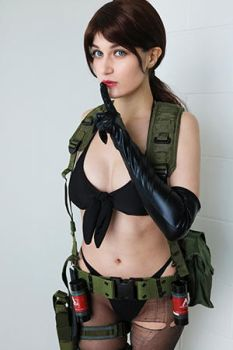 Quiet cosplay by Meryl-sama