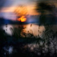 impression soleil couchant II by prismes
