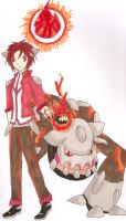 Keith and Heatran by RoCkBaT