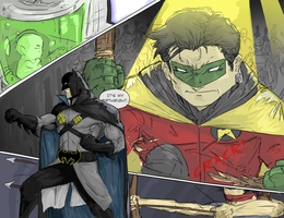 Damian Wayne Batman by TheoDJ