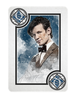 11th Doctor Who Queen of Diamonds by TMC-INK