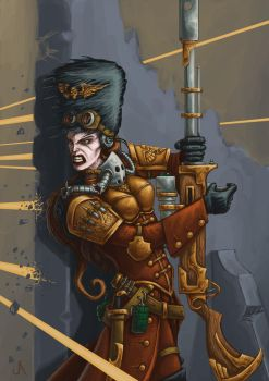 Vostroyan lady by jasperavent