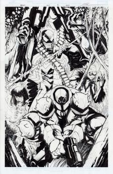 Venom #160, page 2 by Sandoval-Art
