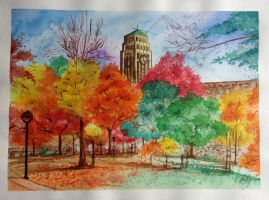 Fall Colours in Ann Arbor by Another-Scarlet-Lily