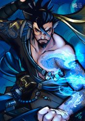 Hanzo Shimada by goldhedgehog