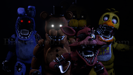 [FNaF 2 SFM] Withereds by Blaster1360