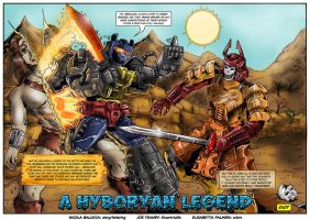 Transformers Tales Conan page 3 by RegenerationPlus