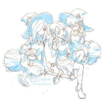 Little Witch Academia #2 by THEJETTYJETSHOW