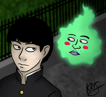 Mob and Dimple by PyromaniacVampire