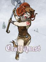 CraftQuest 2 - Barbarian by scazrelet