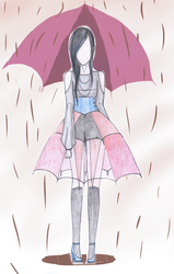 Rainy Day Fashion no.2 by CandyApplePie