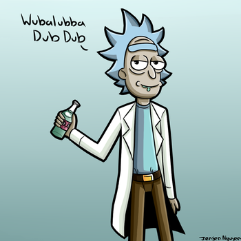 Rick and Morty Season 3 Baby! by thegamingdrawer