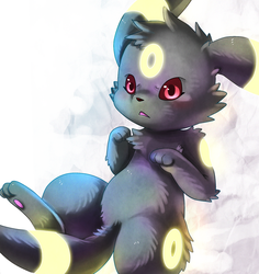 Umbreon: Darkness Approaching by Deruuyo