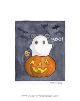 Boo! by PocketPandasArt