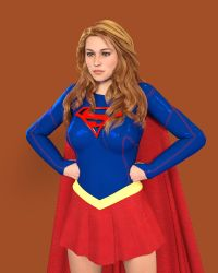 Supergirl TV (Iray Test) by CarlShepard