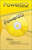 PowerISO Dock Icon by FSDown