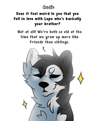 Ask from the character - part 5 by harperthecomic