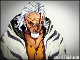 One Piece Silver Rayleigh by Adonis90