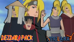 Naruto UNS3 - Deidara Pack FOR XPS by ASideOfChidori