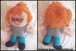 Commission: Barry Plush Doll by Sarasaland-Dragon