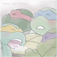 Nighty night, Turtles... by FREAKfreak
