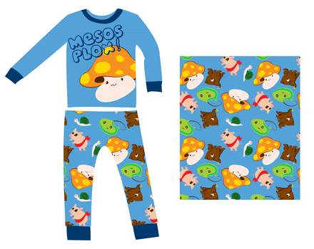 Maplestory Pajamas by CannibalisticCacti