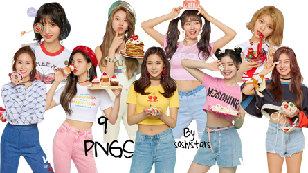 TWICE PNG Pack {What Is Love} by soshistars