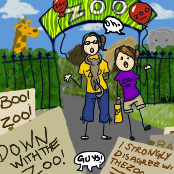 We Hate The Zoo. by dr-k-atterin