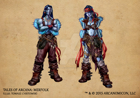 Tales of Arcana 1st Set - Merfolk by TalesofArcanaRPG