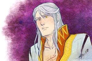 Altheus is not pleased by Meibatsu