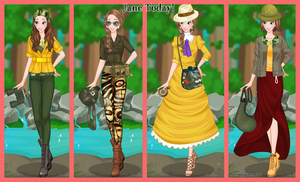 Jane Porter from Tarzan Today Dress Up Game by DressUpGamescom