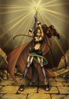 Sorceress by Saehral
