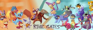 Rivalgates by ColorsAreAwesome