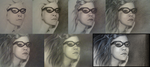 Tutorial for Girl with Glasses by xabigal-eyesx
