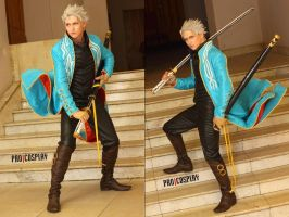 Devil May Cry 3 Cosplay - Vergil by Aoki-Lifestream