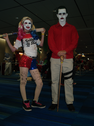 The Joker And Harley by Neville6000