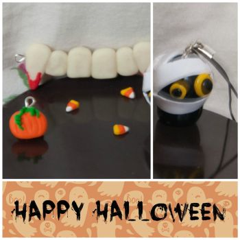 Halloween 2013 1   Polymer Clay   PastelClayCharms by theblondeunicorn