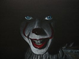 Pennywise the dancing clown (IT) by WerewolfPoland