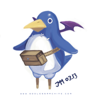 Prinny dood by godlessmachine