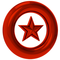 Red Star Ring Render by NuryRush