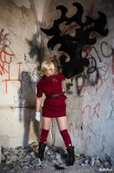 Seras Victoria Blood Version Cosplay by Damakayu