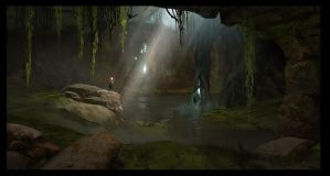Swamp Cave 2 by SebastianKowoll