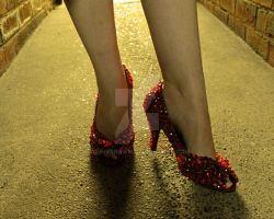 Ruby Slippers 3 by ginnybrown
