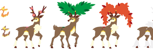 Deerling and Sawsbuck Base