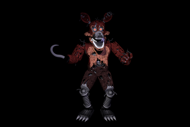 Nightmare Foxy 4.5 Update |By: ThrPuppet by HyperRui37