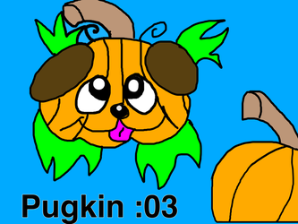 Pugkin by SonicTAlicorn