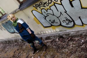 Cloud Strife - Duty by Millahwood