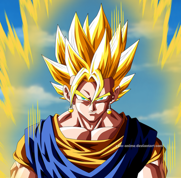 Super Vegetto by Ezio-anime