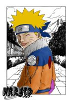 Coloring Test (Naruto) recolor by MrIkki